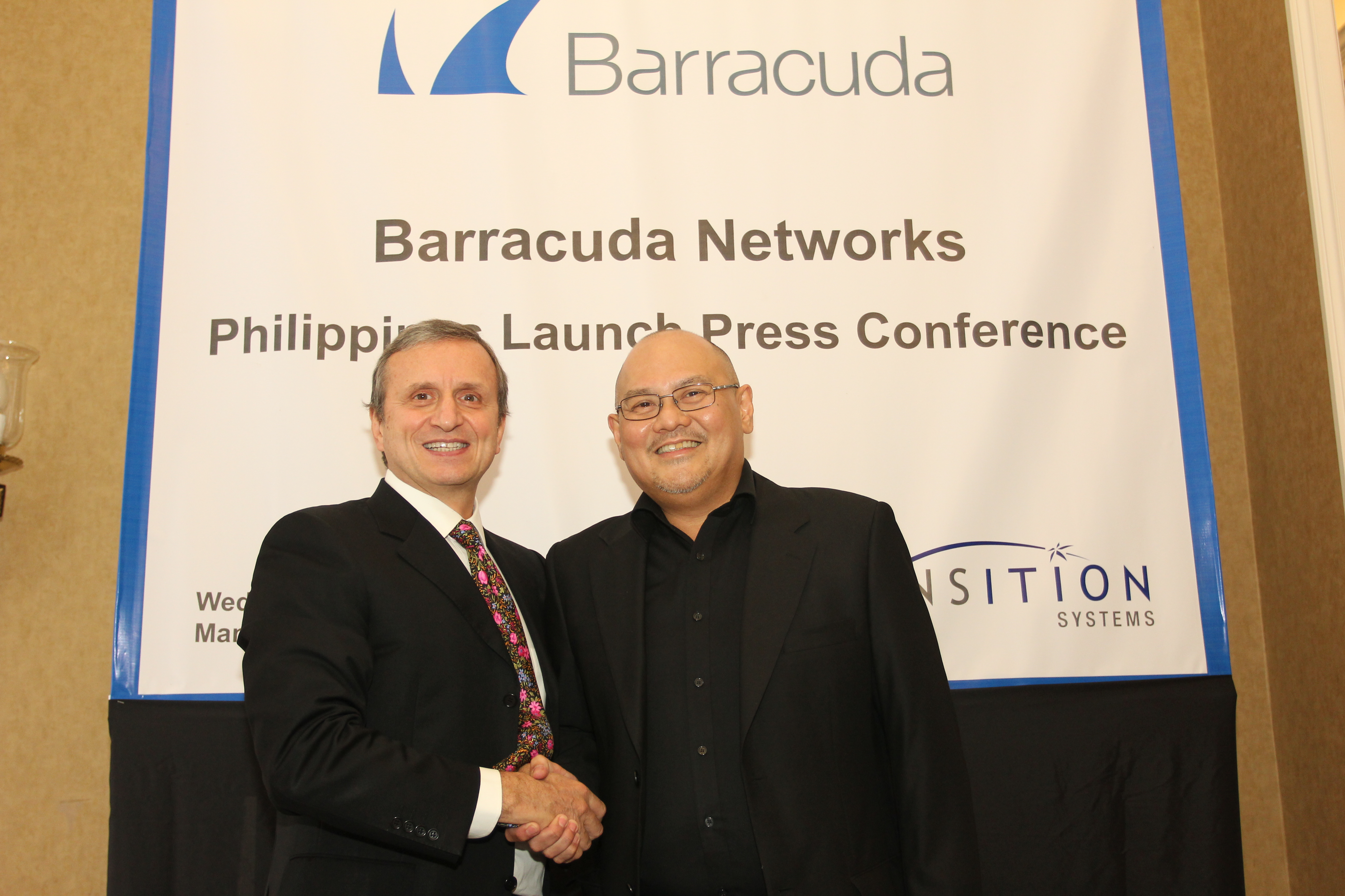 Transition Systems Appointed as Barracuda Networks Value Added Distributor in the Philippines